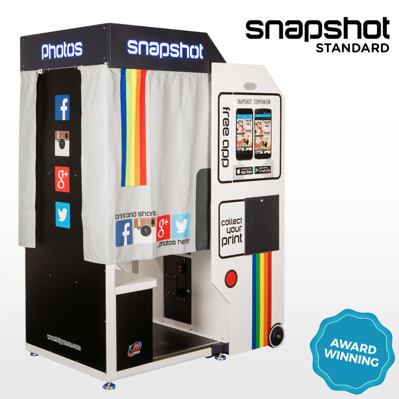 Award Winning Snapshot 2 Standard Photobooth by LAI Games