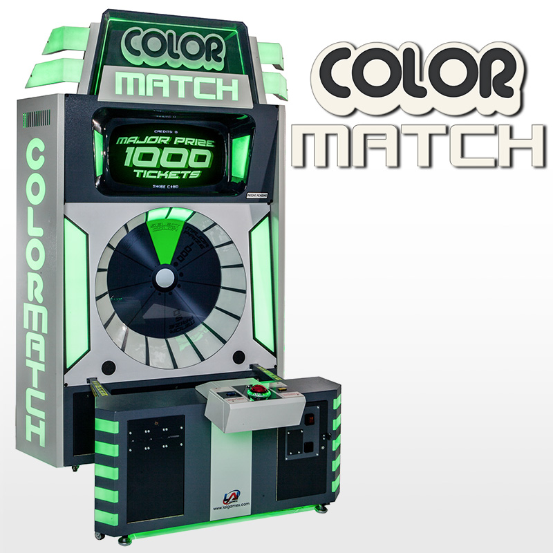 Mega Color Match Lite Ticket Redemption Game | LAIGames com