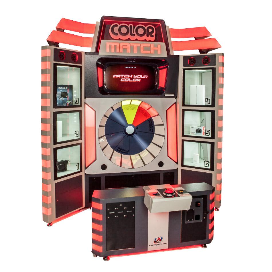 Color Match Prize Game FEC Favorite Top Seller | LAI Games