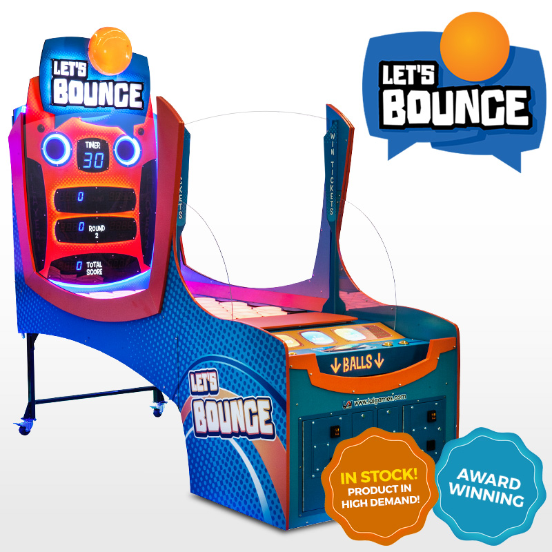 Let's Bounce by LAI Games - in stock now!