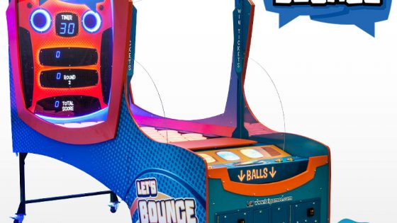 Award Winning Redemption Arcade Game Let's Bounce by LAI Games