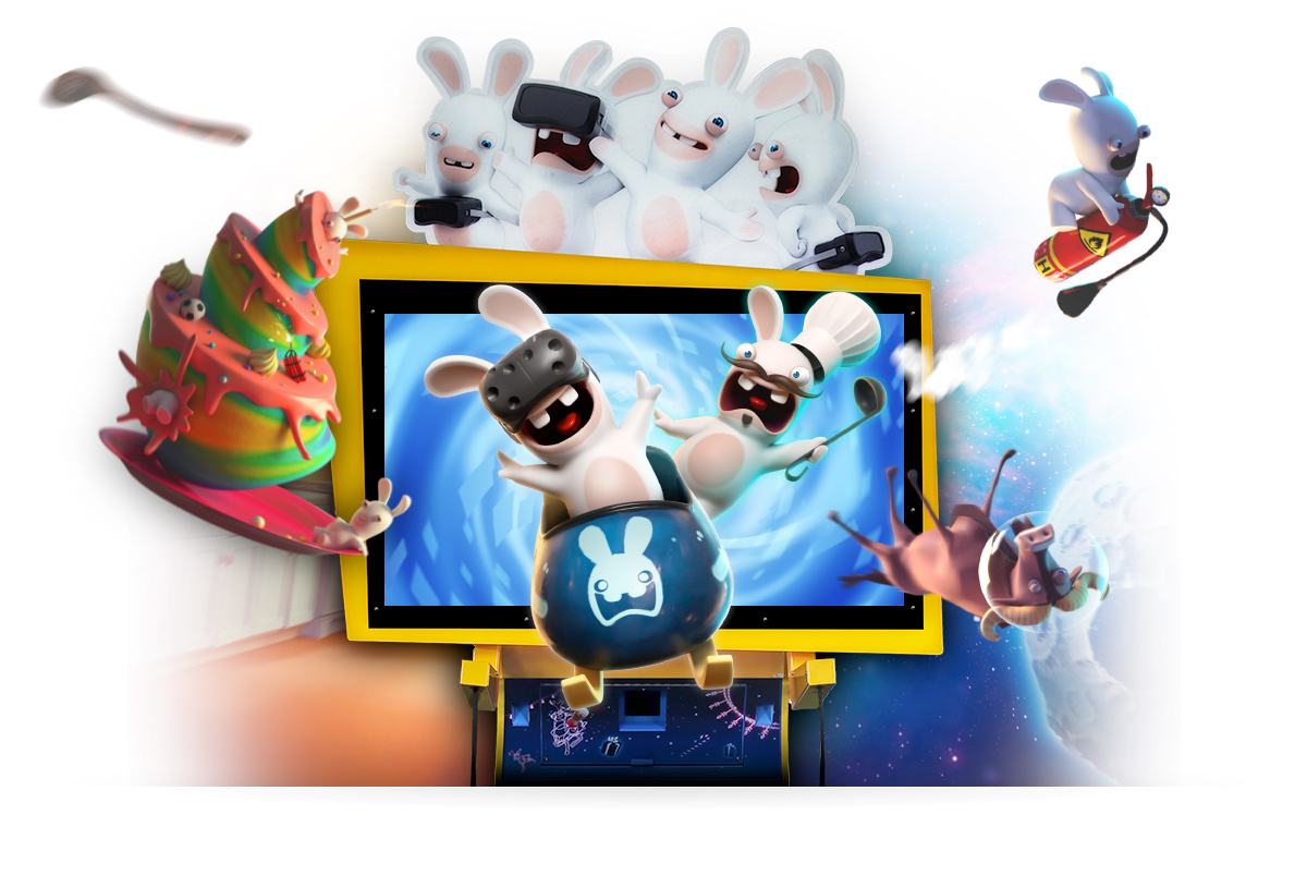 free rabbids invasion games