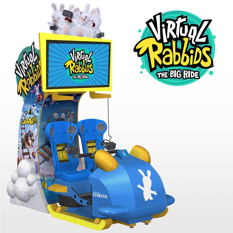 Most Popular Arcade Games - Virtual Rabbids: The Big Ride