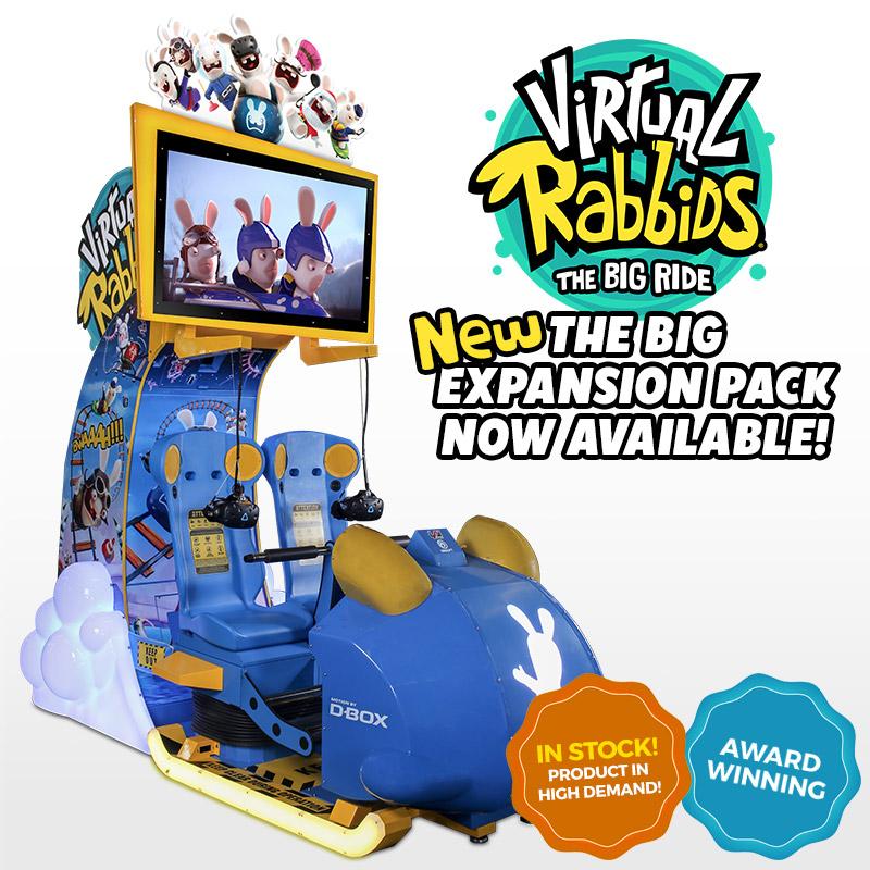 Virtual Rabbids Attendant-Free Virtual Reality | LAIGames com