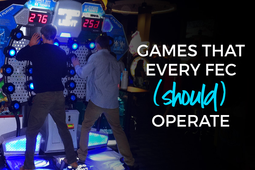 Arcade Games that Every FEC should operate