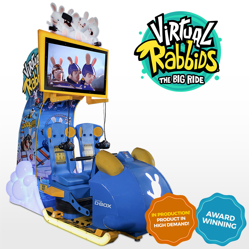 Virtual Rabbids in Production