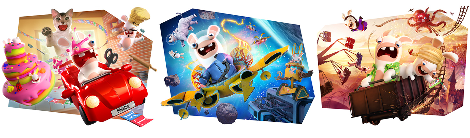 Six total rides make Virtual Rabbids your best VR investment for 2021!