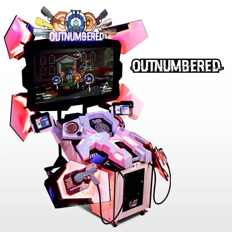 Outnumbered Arcade Game