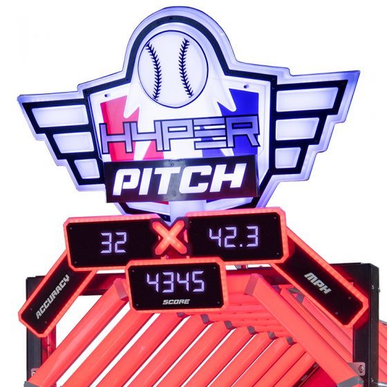 HYPERpitch arcade game LAI Games