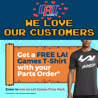LAI Games Store Promotion