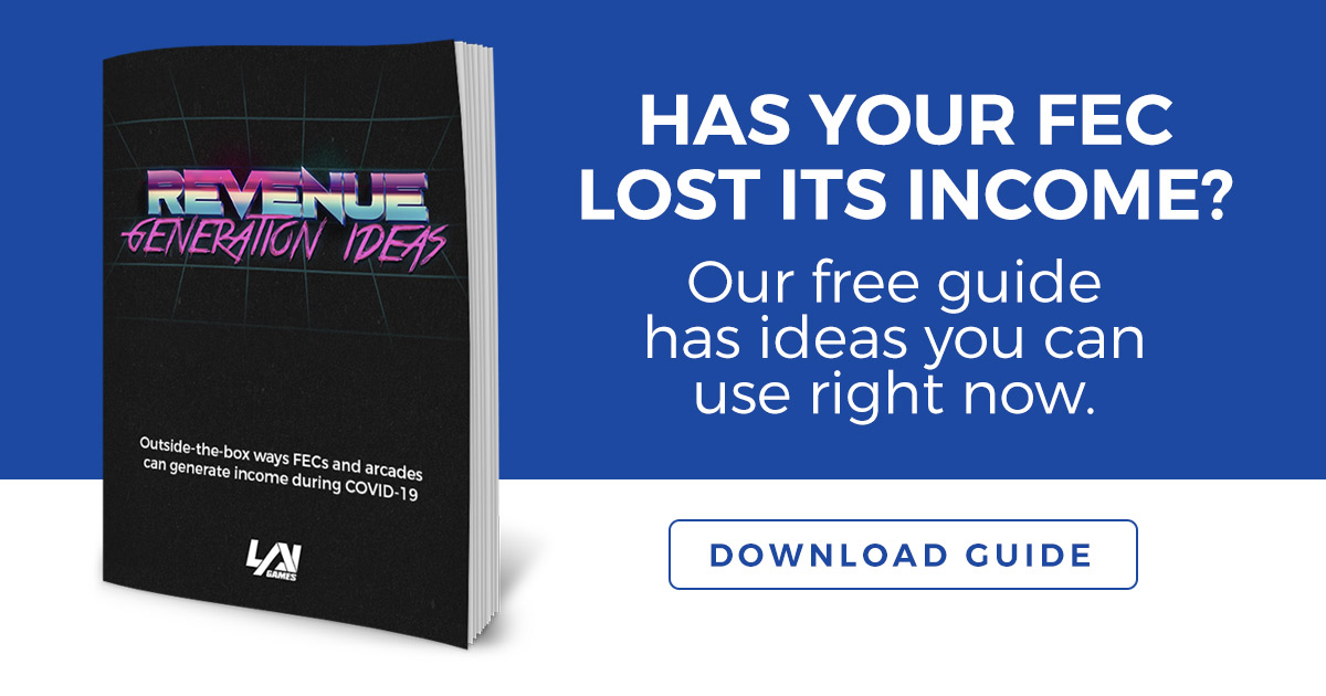 Free Guide - Income generation ideas for arcades