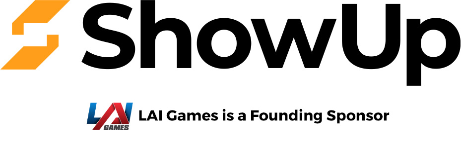 LAI Games is a founding sponsor of ShowUp
