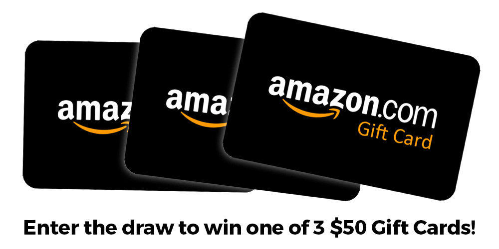 Win one of 3 Amazon Gift Cards
