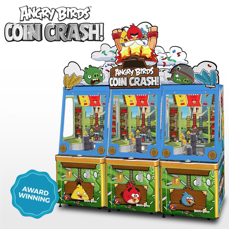 Angry Birds Coin Crash Coin Pusher