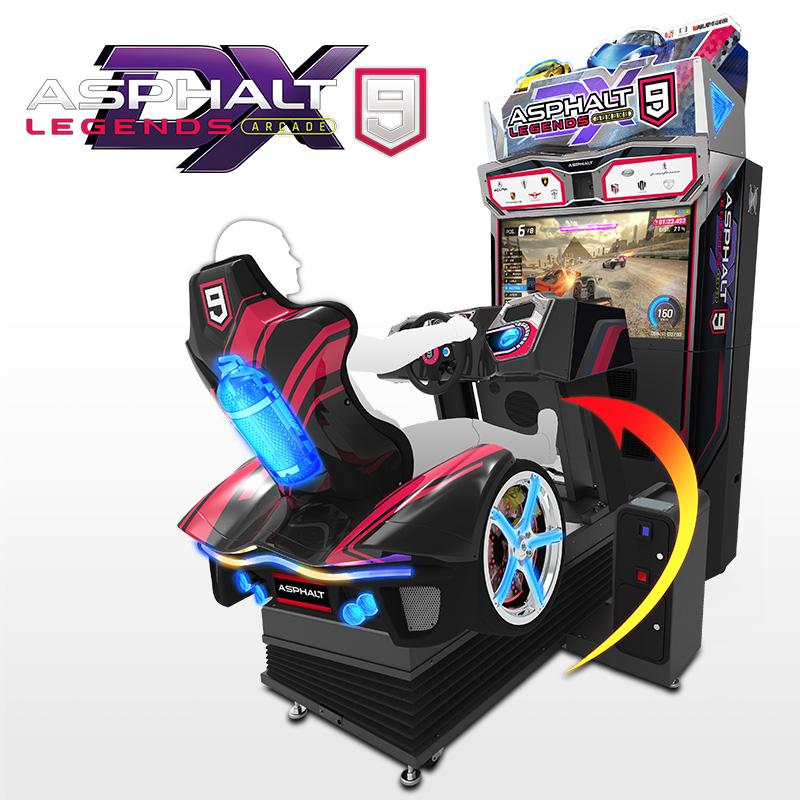 Asphalt 9 Legends Arcade Premium Driver and DX Simulator